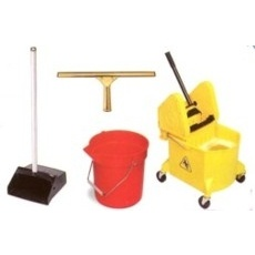 Brooms, Mops & Buckets